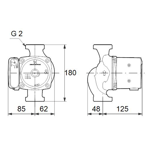 Grundfos Ups 32 80 180 Инструкция